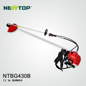 43cc gasoline backpack brush cutter grass cutter