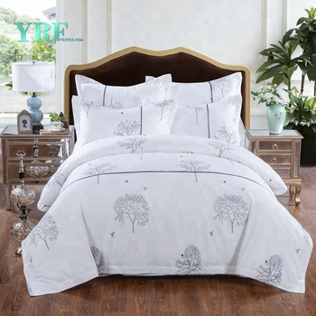 YRF Bed Sheet Free Samples Double Bed White Elastic Bed Sheet