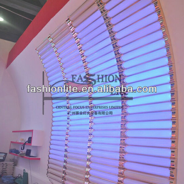 Decoracion de ecualizador led light panel led disco