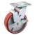 Korean Heavy Duty Swivel PU Caster Wheels