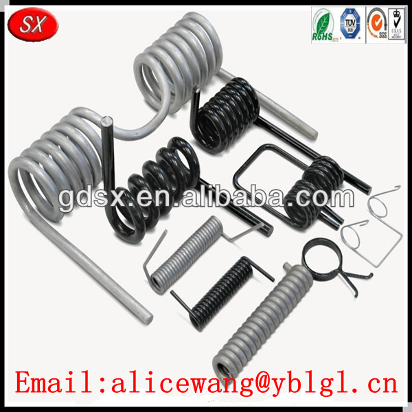 Customized steel recoil spring,lever springs, ceiling light spring,ISO9001/RoHS