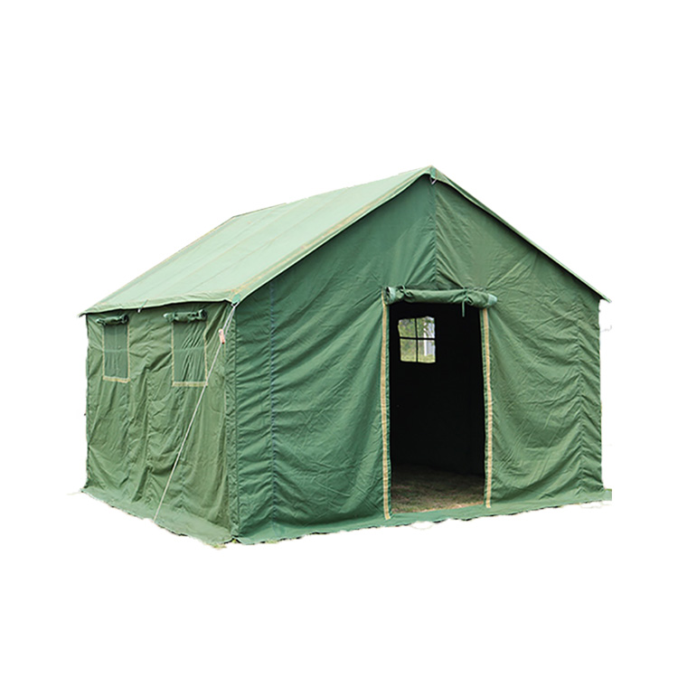 Heavy Duty Steel Frame Army Winter Tent 10 Man Canvas Military Tent