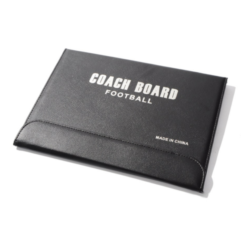 DEWEL Football Tactical Board Folding Soccer Magnetic Tactical Board Coach Strategy Board with Maker Pen and Zipper Coaches' & Referees' Gear Coaches' & Referees' Gear