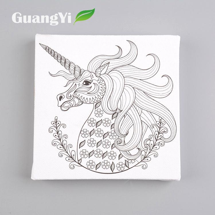 Lukisan Unicorn Kartun Cikimm Com