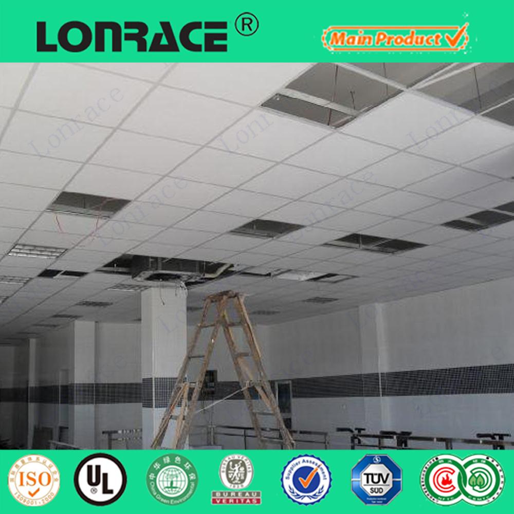 Verlaagd plafond rooster voor akoestisch plafond t-bar-Plafond raster ...