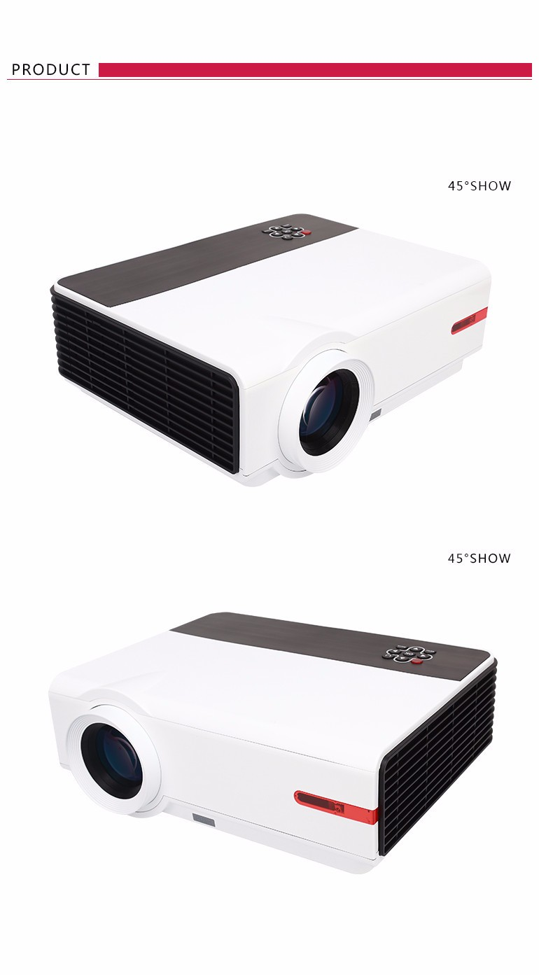 Hottest 1080P RD808 Projector House Theater