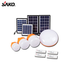The most durable and economic 3W Solar Energy Product 3 Bulbs Solar System Power For Rural area use