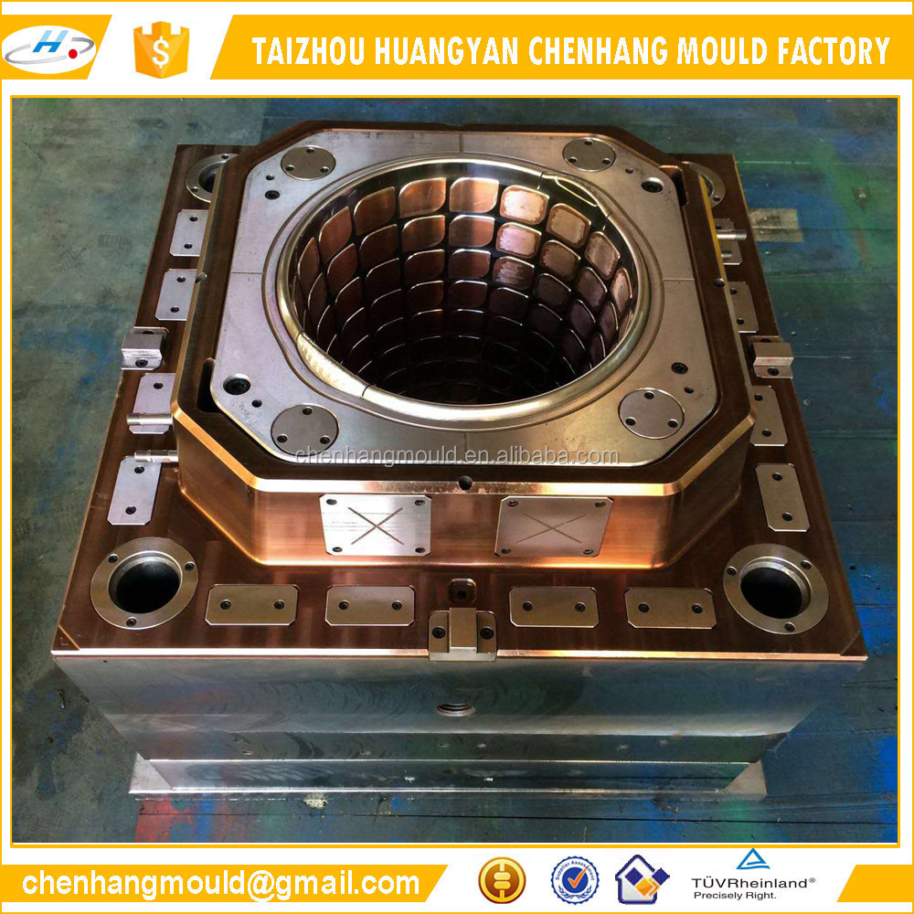 Taizhou manufacturing plastic injection custom paint bucket <strong>mold</strong>