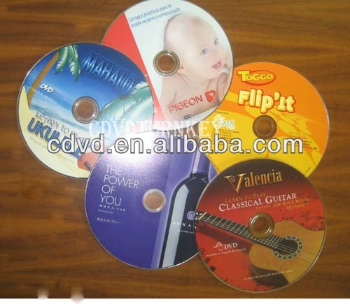 movies video CD Replication and printing