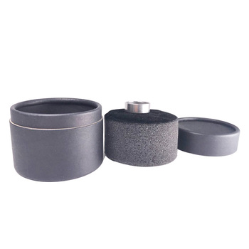 Wholesale fine black special paper ring box jewelry box