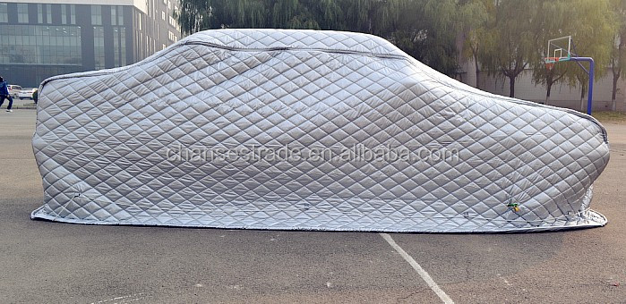 Padded Car Cover To Protect Against Hail