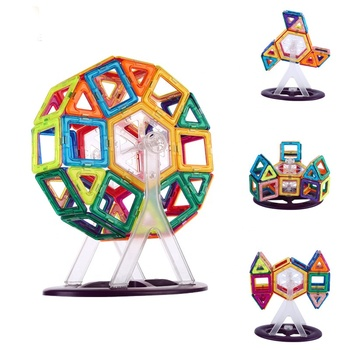 30PCS hight quality Magnetic Blocks Building Tiles Set For Kids,Educational toys for Boys & Girls Magnetic