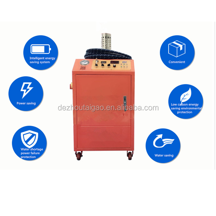 Mobile portable Lpg steam cleaner and steam jet cleaner with 12V for sale