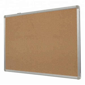 Office School Aluminium Frame Notice Bulletin Board Push Pin Cork Board