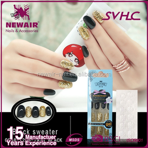 2017 hot selling human finger nails for sell girls fake nails
