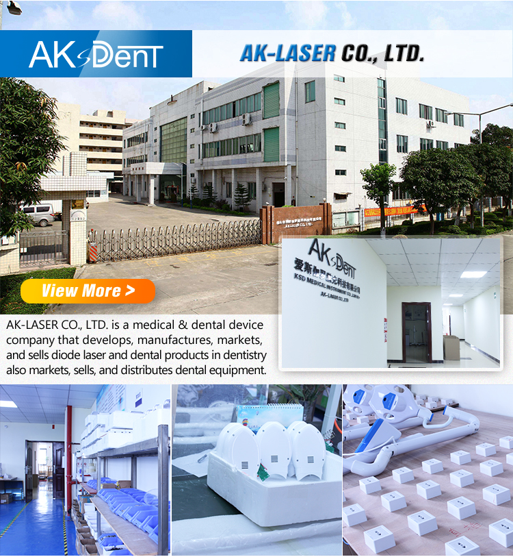 Hot Sale AKsDenT Dental Teeth whitening machine standing type  Bleaching light whitening lamp for Beauty Salon