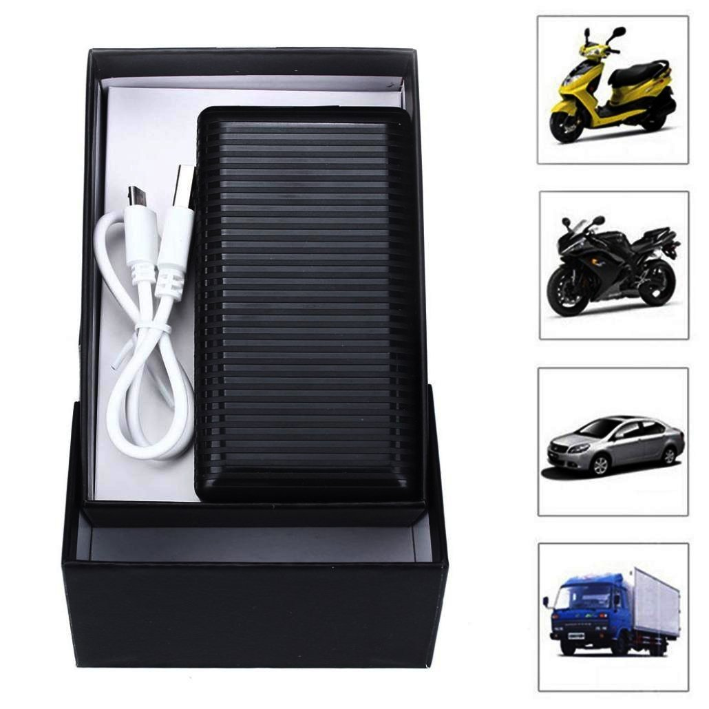 2016 New Car GPS Tracker, Owill AGPS+3LBS+SMS/GPRS GPS Car Vehicle Locator Tracker SMS Network for Truck Car Motorcycle Monitor [Real-Time] Black