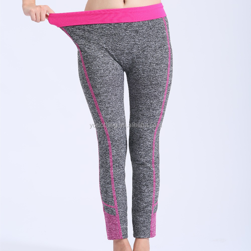 Custom Sublimation Leggings Fitness Wear Sports Running Compression Tights Pants for <strong>Women</strong>