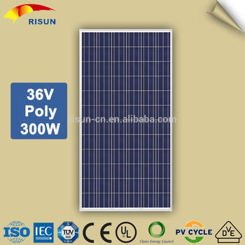 A grade 300w poly solar panels for home power system