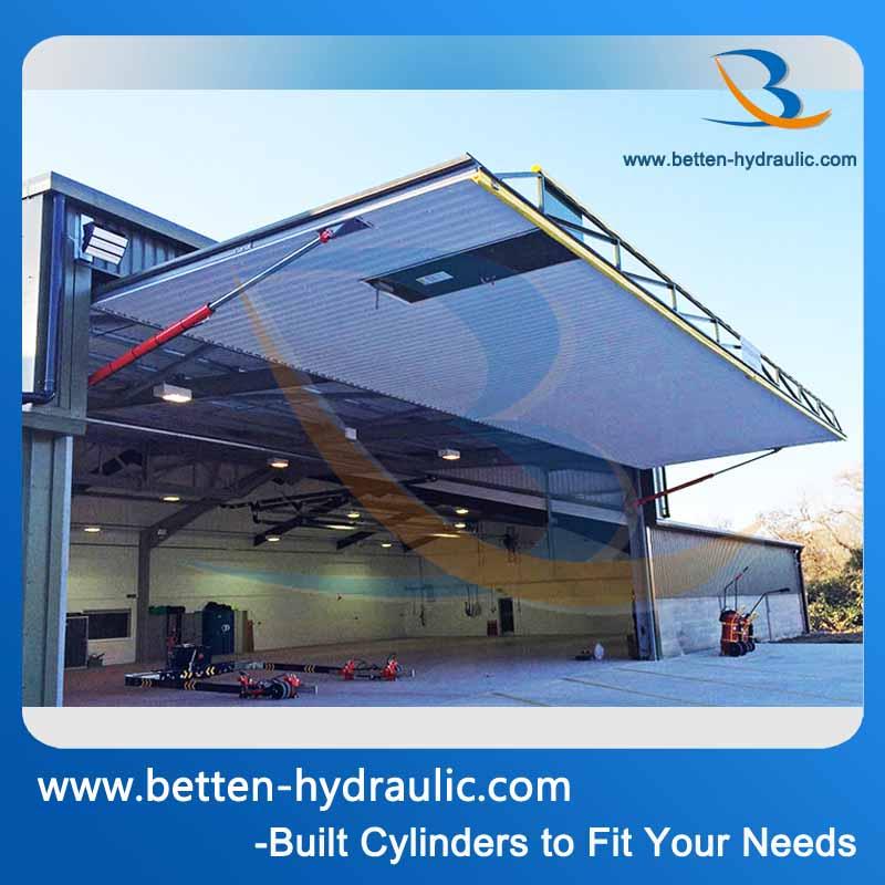 V rin hydraulique pour porte porte de garage cylindres id - Verin porte de garage ...