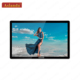 "55"" narrow frame 4k UHD 10 points touch screen,OPS monitor"