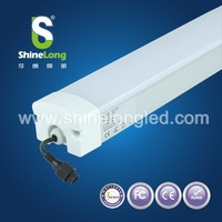 single tube t8 fluorescent fixture led batten light 4ft Triproof Light Led Lighting Fixtures