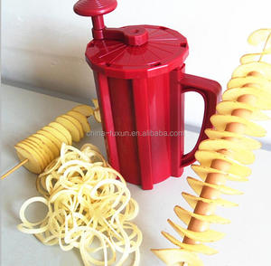 FACTORY PRICE potato string cutter/potato curly fry cutter/potato chip cutter