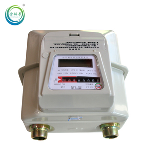 digital diaphragm gas meter g1.6 electronic gas meter