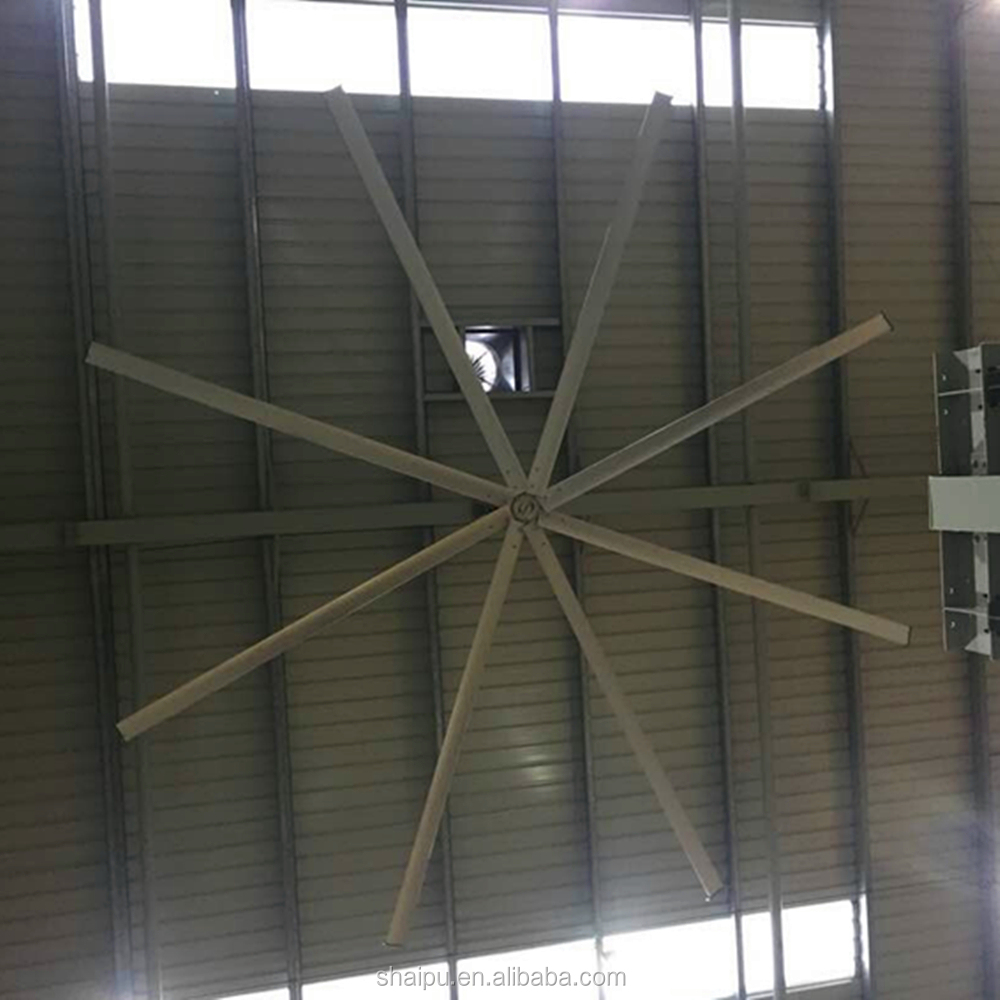 Large Ceiling Fan Malaysia: 24ft Hvls Industrial Big Ceiling Fan Malaysia