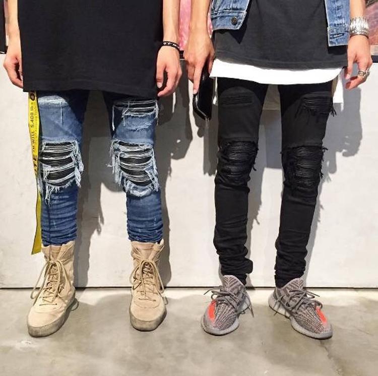 Celana Denim Pria Jeans Ketat Pengendara Sepeda Motor Ritsleting Celana Denim Vintage Robek Untuk Pria Buy Biker Ome Jeans Pria Zipper Jeans Pria Denim Product On Alibaba Com