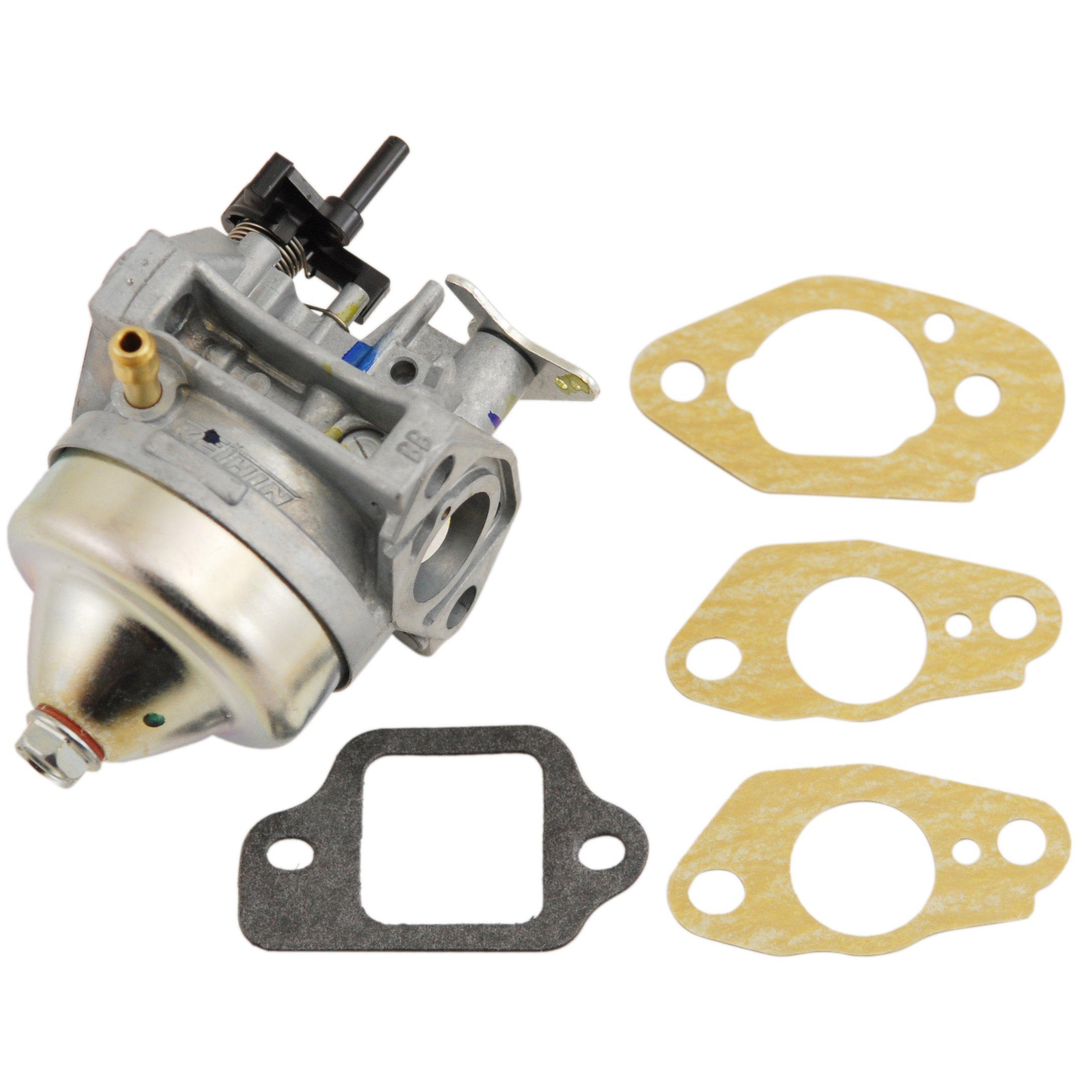 Honda Carburetor 16100-Z0L-853 and Gasket Set 16221-883-800(2), 16212-ZL8-000, 16228-ZL8-000