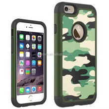 New Designer Camouflage Printed Waterproof Shockproof Dirtproof Cover Phone Case for iPhone 6/6S