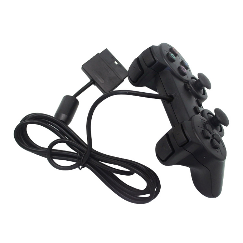 Wired Gamepad joystick for ps2 console Controller