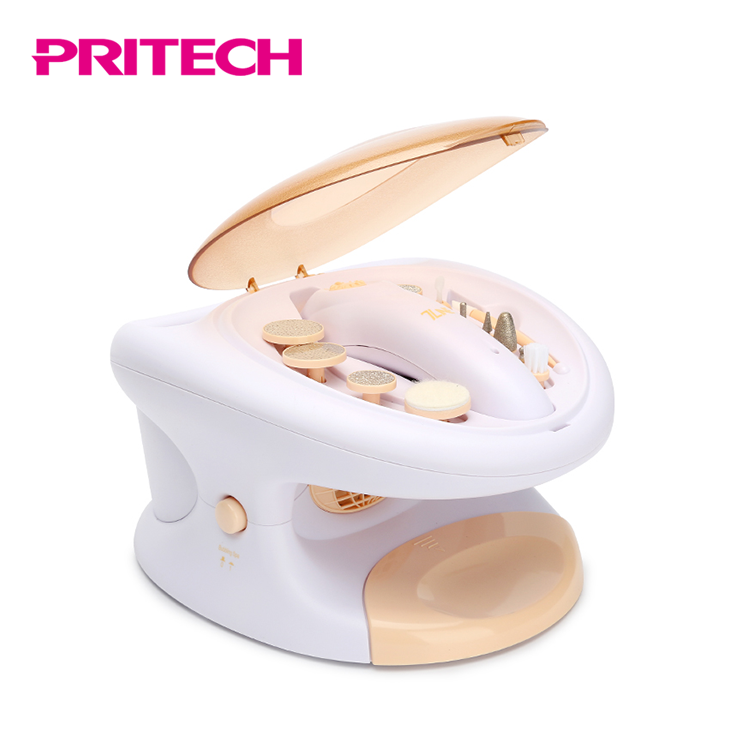 PRITECH Hot Sale Rechargeable Electric Pedicure / Manicure Sets With Wholesale Price