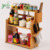 Wholesale High Quality Bamboo Multi-Function  Kitchen Racks With Household Chopsticks Holder