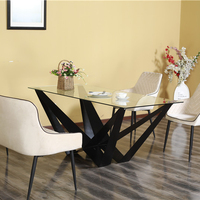 White 6 8 10 Seater Turkey Malaysia Singapore India Italian Dubai Rectangle wooden/mdf Top Dining Table Manufacturers