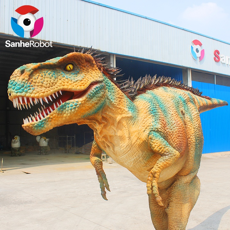 New fashion handmade good quality attractive cheap soft walking with dinosaur costume for funfair фото