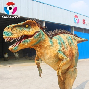 New fashion handmade good quality attractive cheap soft walking with dinosaur costume for funfair