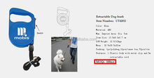 Retractable Stocked Dog-leash Promotion Small Order 100pcs