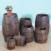 High quality Wooden decoration Barrel beer barrel
