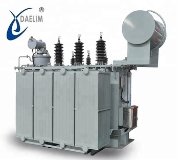 1250 Kva Oil Immersed Transformer Up To 35 Kv Two Windings