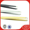 Flexible metal eyebrow clip/tweezer