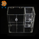 Professional Standard Acrylic 5 Drawers Cube Makeup Organizer Clear Box Cosmetic Cases