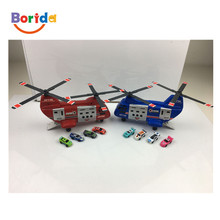 Cool Helicopter toy with Model car transport type helicopters DIY toys for kids
