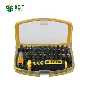 BST-2166A 32 in 1 Precision Screwdriver Sets Electronic Tools Bits Set For Mobile Phone Watch Repair Tool Kits