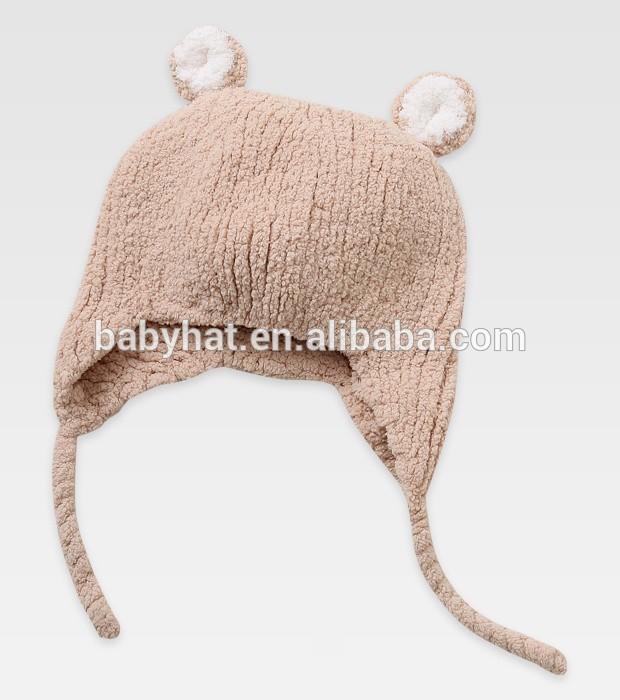 de los animales sombrero bebé tejer patrón de felpa tapa gorro con ...