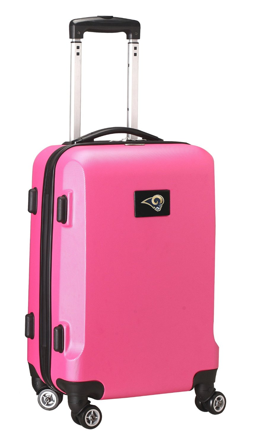 NFL St. Louis Rams Hardcase Domestic Carry-On Spinner, Pink, 20-Inch
