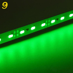 high quality 5050 12v led bar light with aluminium shell hard strip for outdoor