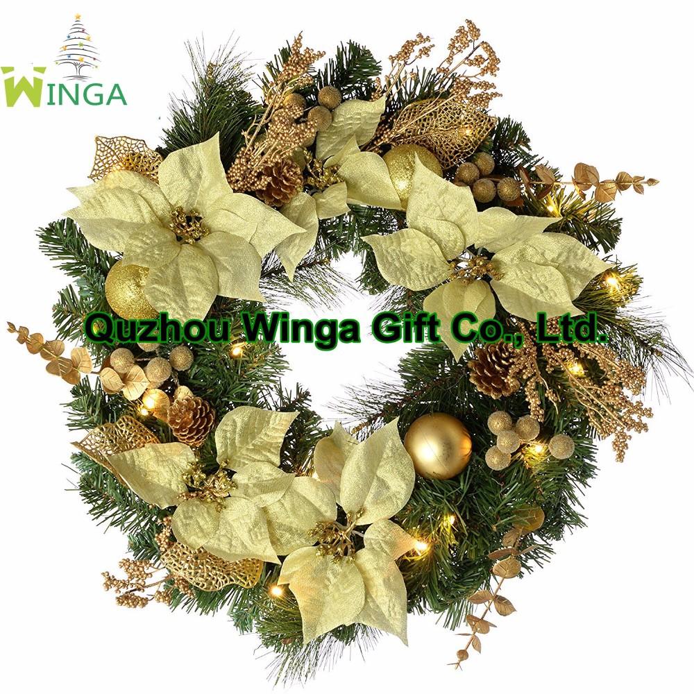 Wholesale Artificial Christmas Wreaths - Buy Christmas Wreath ...