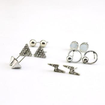2017 Latest Design Fashion Earring Stud Sets For Multiple Piercings Swtrf1082